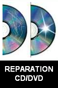Réparation CD/DVD